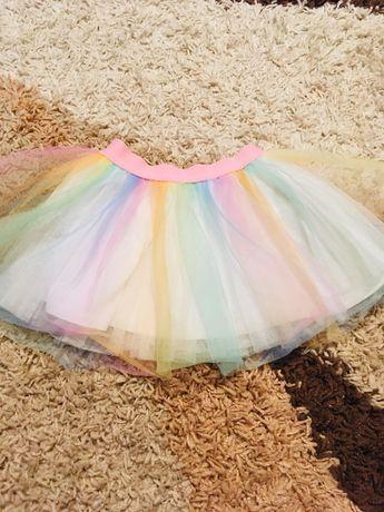 Нарядная юбка на самых маленьких