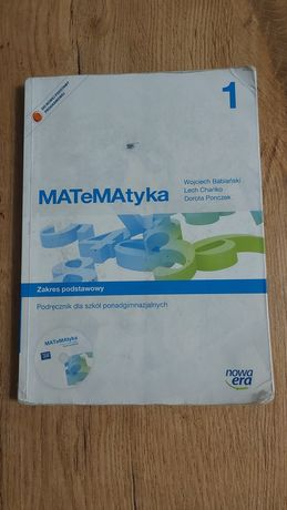 Podręcznik MATeMAtyka kl. 1
