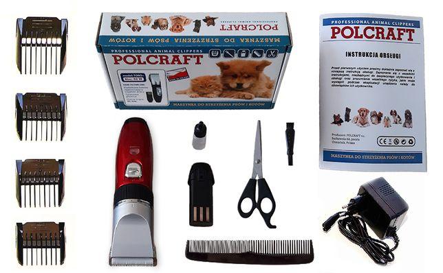 40 ватт Машинка для стрижки собак и кошек Polcraft  (Польская)