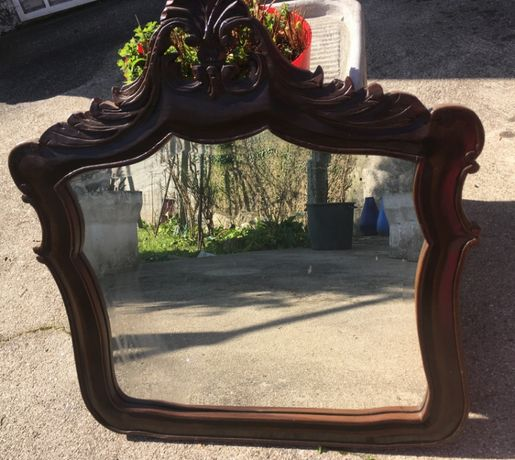 Espelho Talhado à Mão