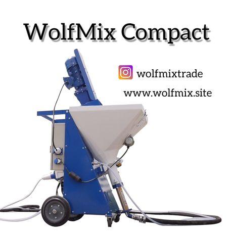 Штукатурная станция 220/380В WolfMix Compact (pft ritmo)