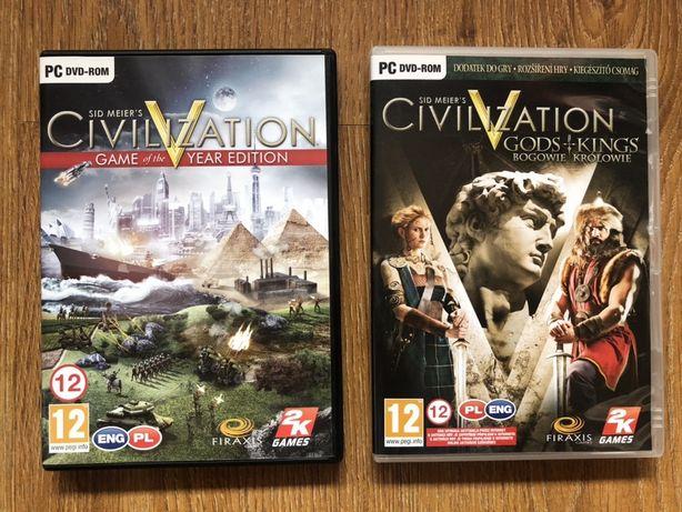 Sid Meier's Civilization V GOTY + Gods & Kings