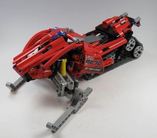 LEGO Technic 8272 - Skuter Śnieżny,spychacz