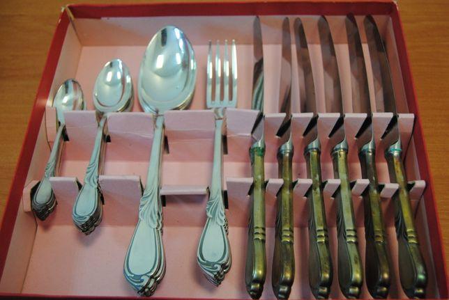 HEFRA Rapsodia srebro pr 800 sztućce, komplet 30 szt, nie używane