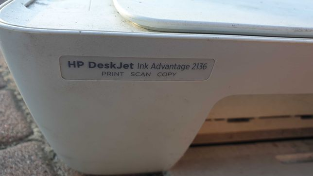 Uszkodzona drukarka HP