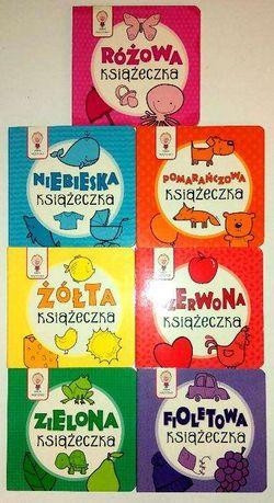 Książeczki -seria 7 szt+2