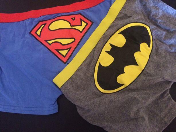 Boxers Batman e Super-Homem