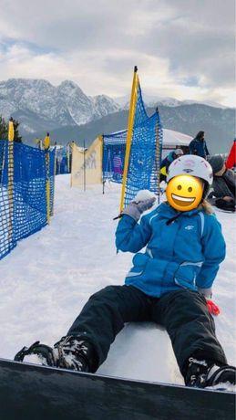 Zestaw narciarski , spodnie + kurtka 4 f r. 140
