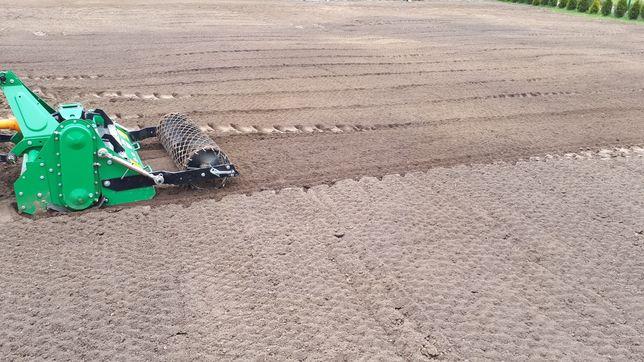 Nowy trawnik Glebogryzarka separacyjna, koszenie trawy, Wertykulacja