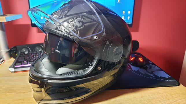 Kask motocyklowy Scorpion Pinlock Bleda Pompka - jak Arai Airoh HJC