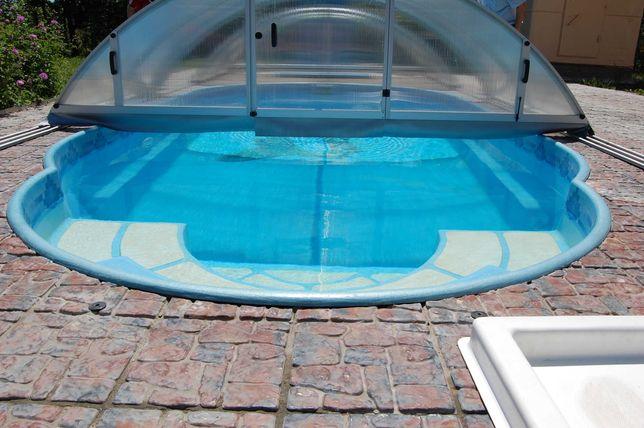 Бассейны под ключ: из стекловолокна, и полипропилена.
