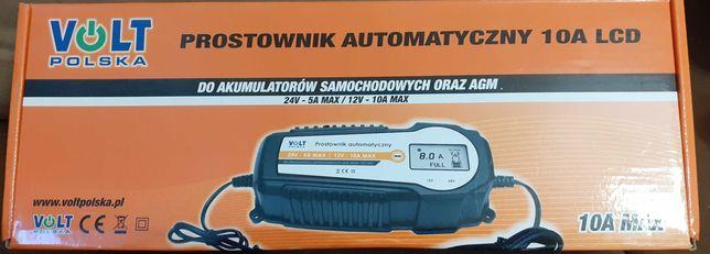 Prostownik Automatyczny 10A LCD Volt Polska