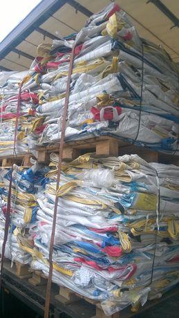 Worki Big Bag rozmiar 105/105/130cm 4 zawiesia lej/lej