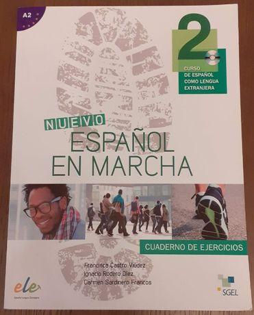 Nuevo espanol en marcha 2 A2 - ćwiczenia + CD