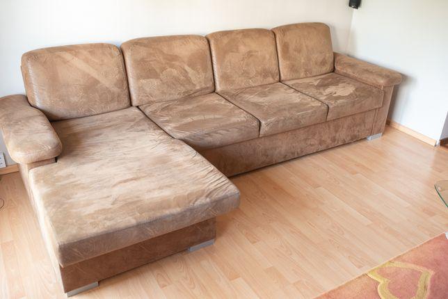 Kanapa sofa narożna duża, narożnik.