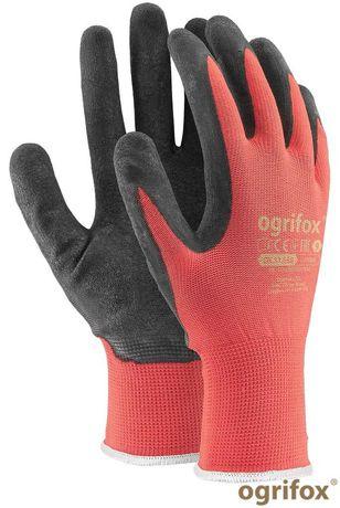 Rękawice robocze powlekane lateksem 12 par rozm. 10 XL
