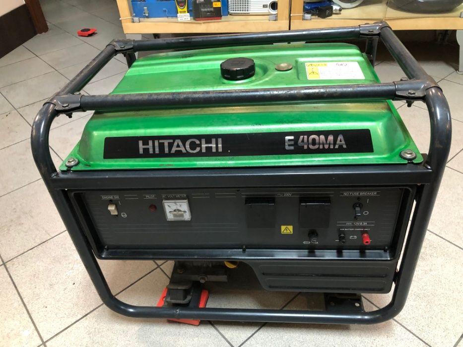 Profesjonalny agregat prądotwórczy HITACHI E40MA 3,3kW stabilizacja Myszków - image 1