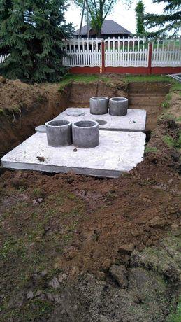 Szambo Betonowe na gnojowice ścieki Zbiornik 11000l deszczówka