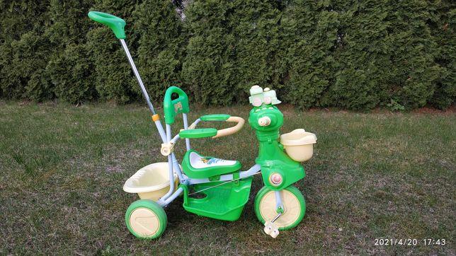 Rowerek Trójkołowy dla dzieci, rowerek pchacz.