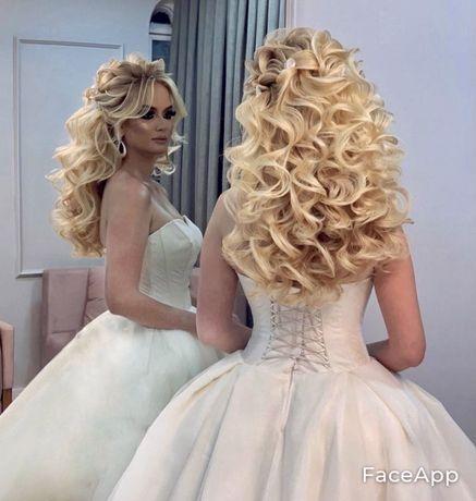 Свадебный стилист, вечерние прически и макияж