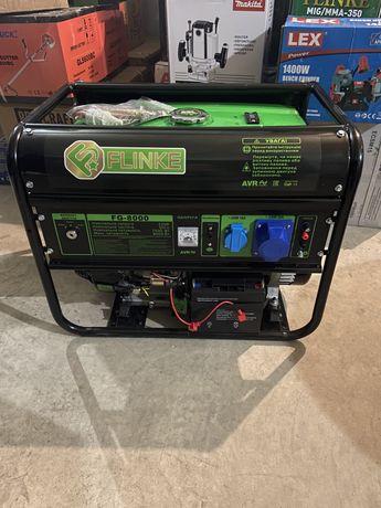 Генератор Бензиновий FLINKE FG-8000 с электростартером 8000watt Польша