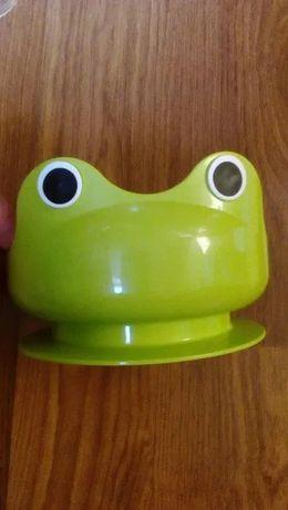 """Miseczka dla dzieci """"żabka""""."""