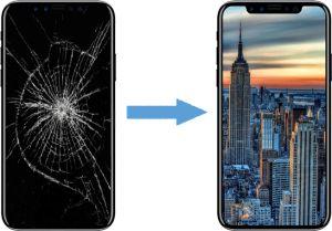 Замена стекла на телефон ремонт
