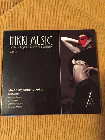 CD NiKki Music Late Night Dance Edition Vol. 1 (como novo)