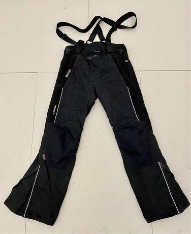 Spodnie motocyklowe MP-ASU; ocieplacz; nakolanniki; rozm M