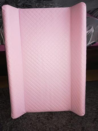 Ceba przewijak różowy pikowany 50x70