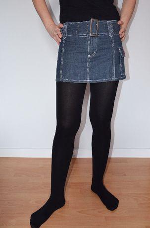 CROPP mini spódniczka jeansoowa roz XS