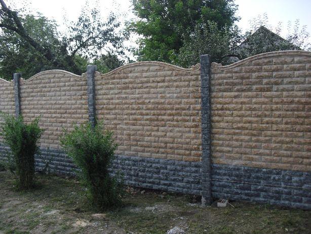 забор вн бетонные заборы винница вінниця вінницька область