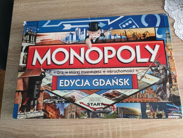 Gra monopoly edycja Gdańsk
