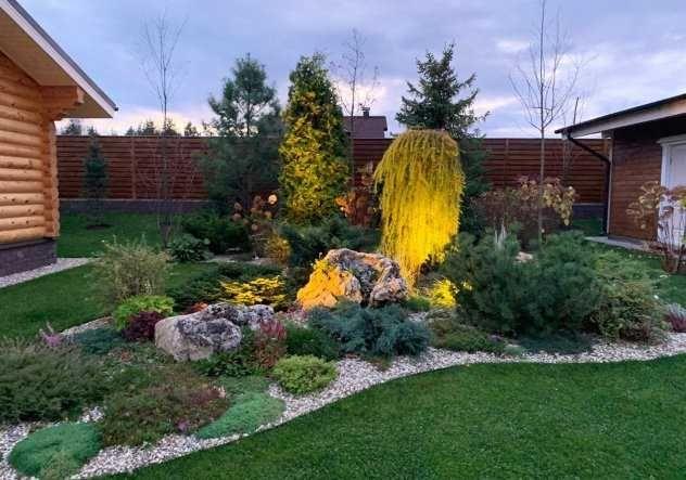 Ландшафтный дизайн, озеленение, благоустройство участка