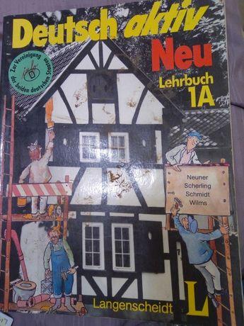 Учебное пособие для изучения Немецкого Deutsch aktiv Neu Lehrbuch 1А