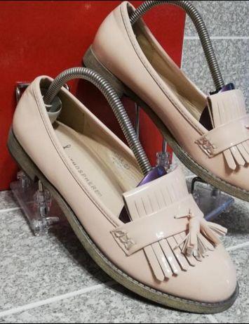 Женские лаковые лоферы туфли Atmosphere