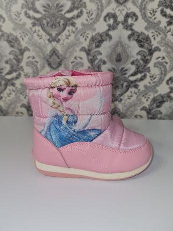 Зимние ботинки на девочку 25 размер