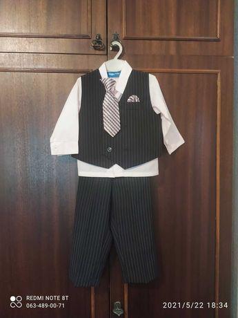 нарядный костюм на мальчика на 1-3 года