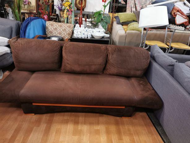 Ładna porządna sofa kanapa rozkładana podnoszone boki z Niemiec