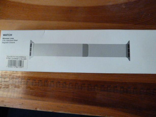 bransoletka do opaski Fitbit charge 2 rozmiar L/G kolor srebrny