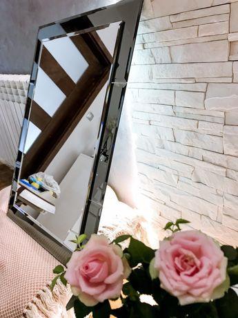 Piękne eleganckie lustro salon łazienka w stylu glamour 50x70 ikea