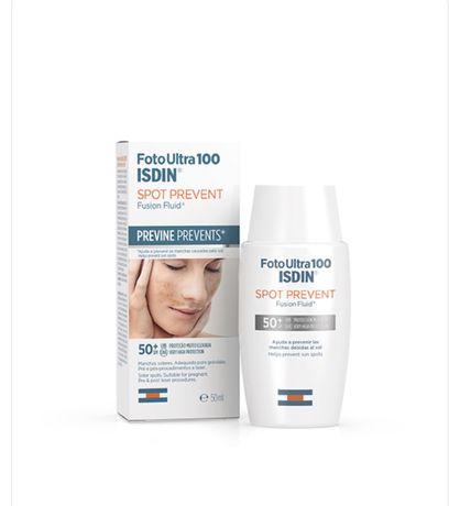Protetor solar ISDIN FotoUltra 100 Spot Prevent Fusion Fluid SPF50+ 50