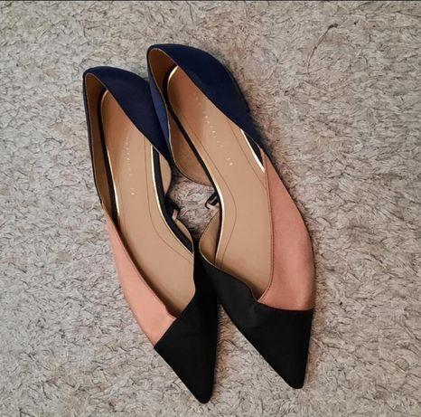 Текстильні туфельки від zara