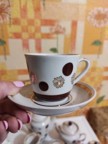 Кофейный сервиз на 4 персоны под эспрессо