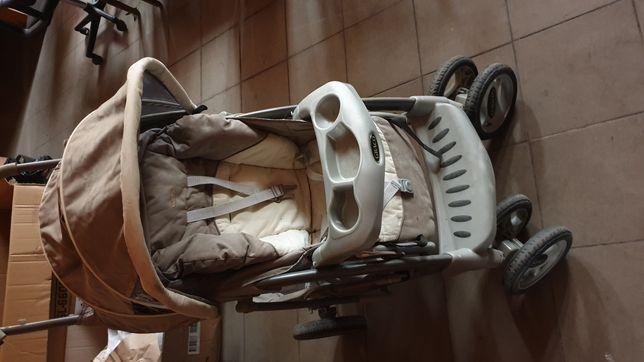 Wózek spacerowy dwufunkcyjny