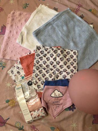 Набор одеял и муслиновых пеленок