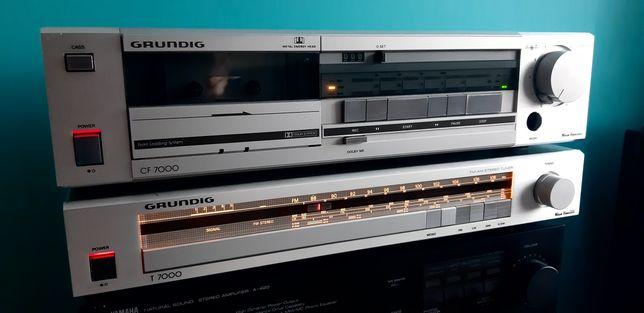 Tuner deck magnetofon  grundig cf7000 t7000
