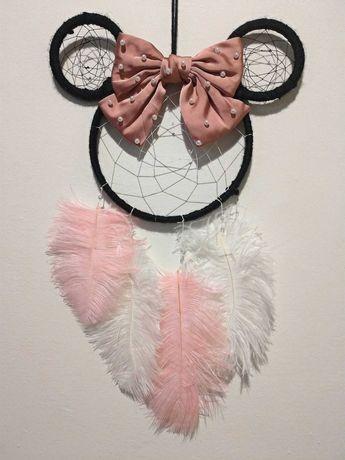 Caça-Sonhos Minnie rosa