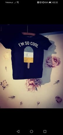 Bluzka dla chłopca cekiny h&m