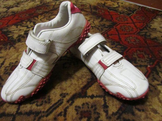 Кроссовки белые Lonsdale оригинал. Натуральная кожа